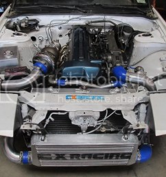 240sx twin turbo kit [ 1024 x 768 Pixel ]