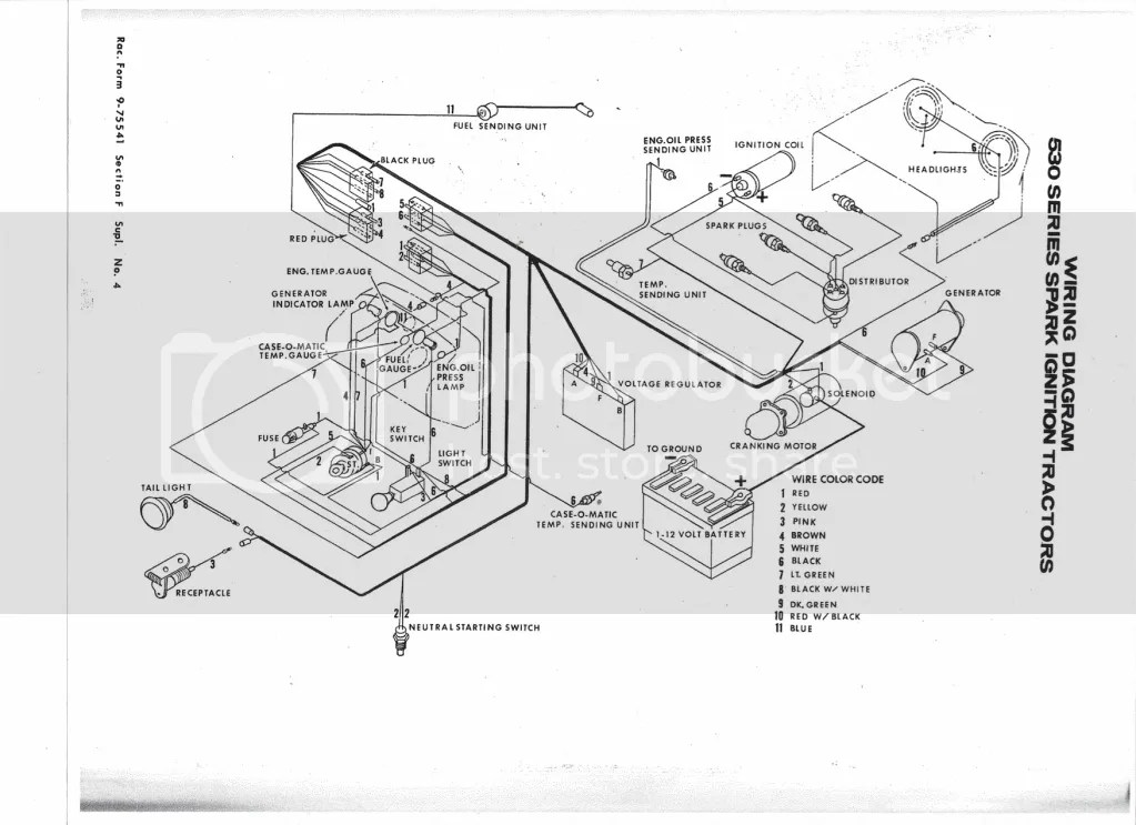 Case 430 Tractor Wiring Diagram. Case. Free Printable
