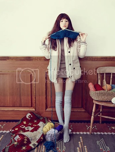 Yoon Seung Ah For Thursday Island's Winter 2013 Ad ...
