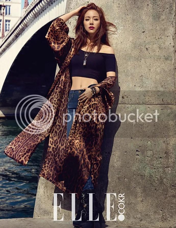 Han Ji Min Is A JawDropping Goddess In Elle Koreas