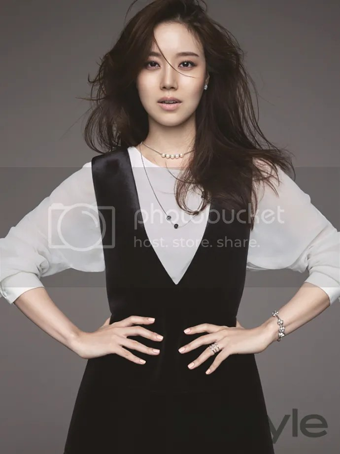Moon Chae Won Is In An Enticing Mood For InStyle Koreas