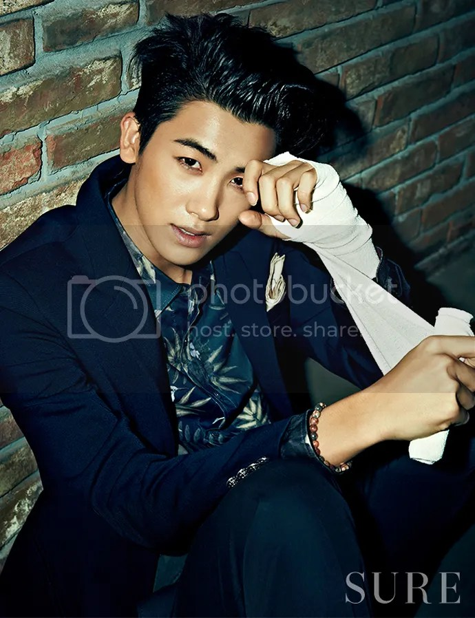 Park Hyung Sik Is Rough  Mellow In March Issues Of SURE