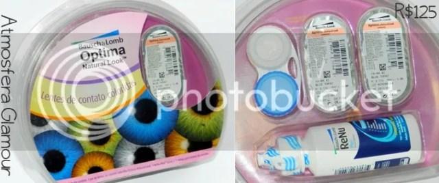 963ffcef0b596 A Eótica, uma Ótica Online, me mandou um par de lentes de contato coloridas  da marca Optmia e fabricante Bausch Lomb com grau para testar no blog e  mostrar ...