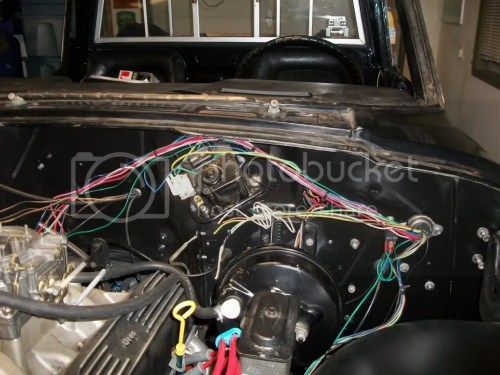 small resolution of it s a snap wiring harness about done international full size open wiring harness pretty close to
