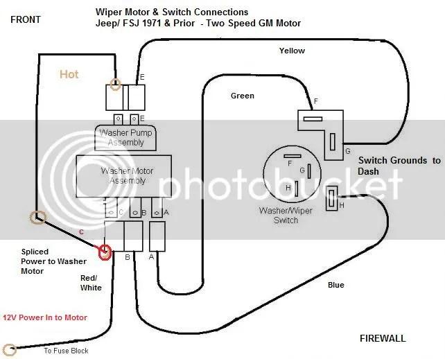 wiper motor wiring diagram 85 ford electrical wiring diagram rh electricalbe co