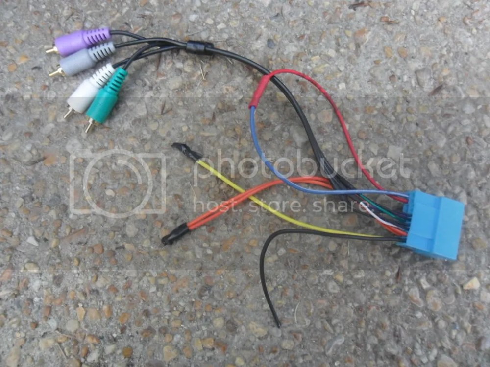 medium resolution of diy two ways to wire in an aux without soldering on factory bose wtb 2008 stock stereo head unit aux in wiring plug for the built