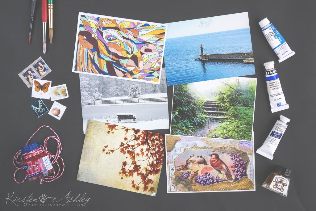 Kirsten Ashley Photography & Design   Liberate Your Art   Post Card Swap