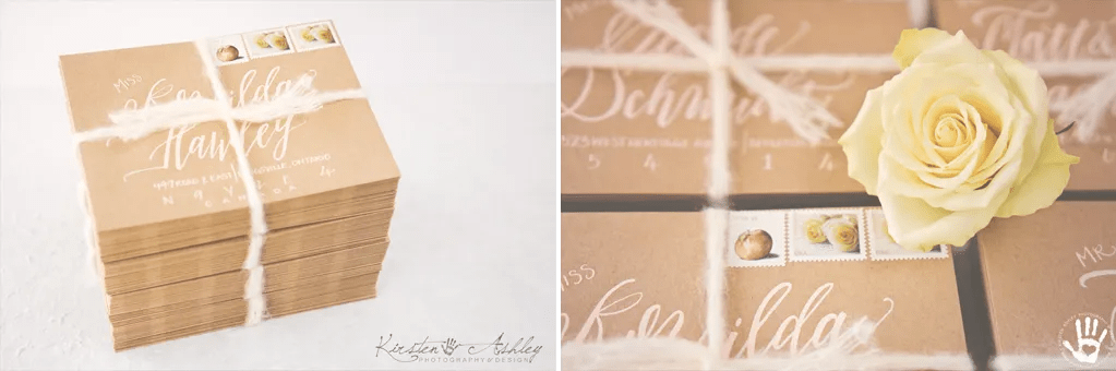 Kirsten Ashley Photography & Design | Bespoke Wedding Invitations