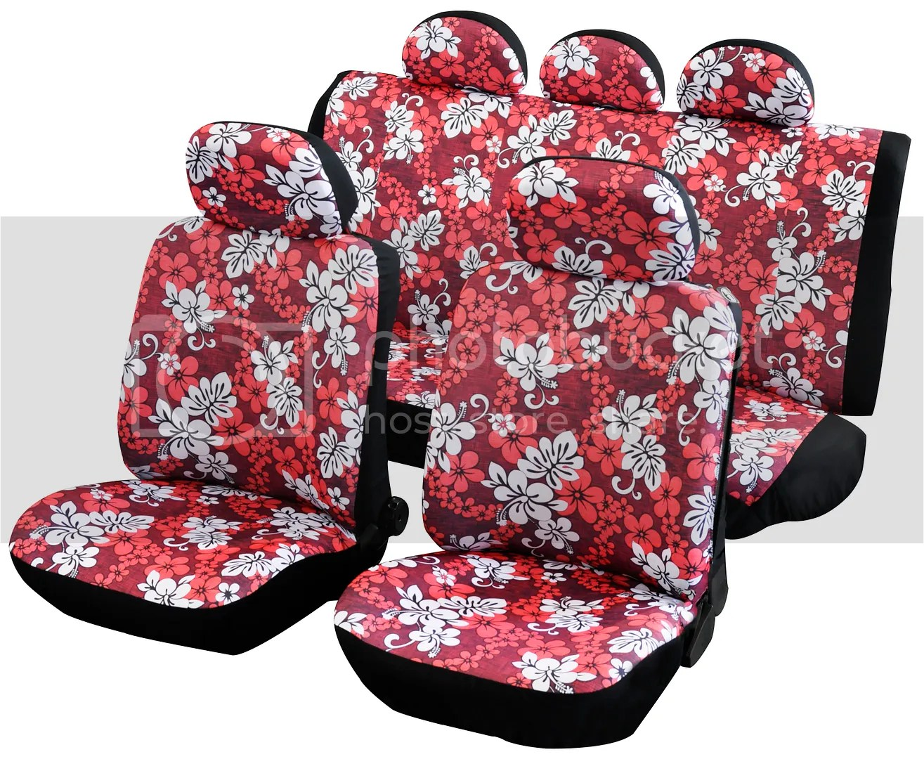 hawaiian chair covers big lots beach chairs genuine quality universal fit car seat fits most