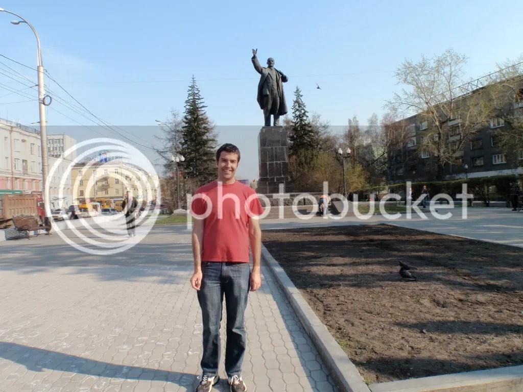 Lenin statue - Irkutsk