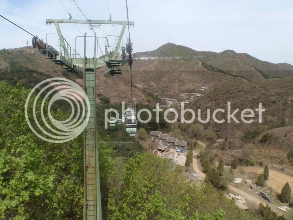 Cable Cars at Jinshanling