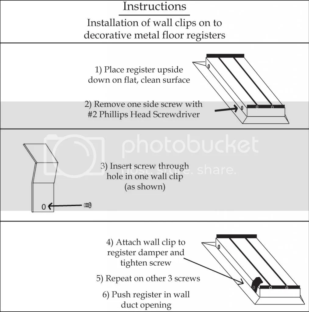 Installerstore - Wall Clip Installation Instructions