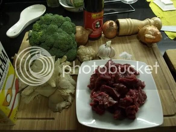ingredientes ternera salteada con brocoli