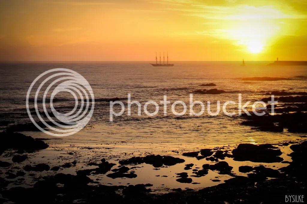 Porto zonsondergang