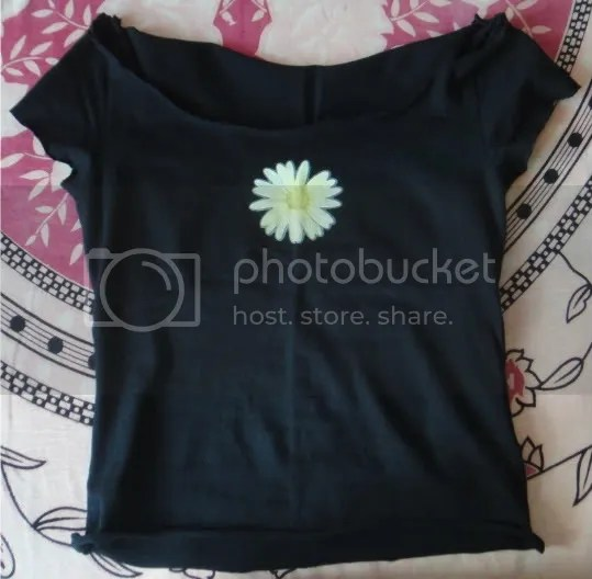 diy t-shirt black