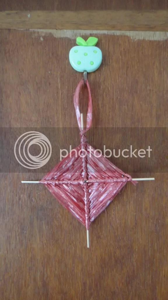 samhain parshell cross handmade