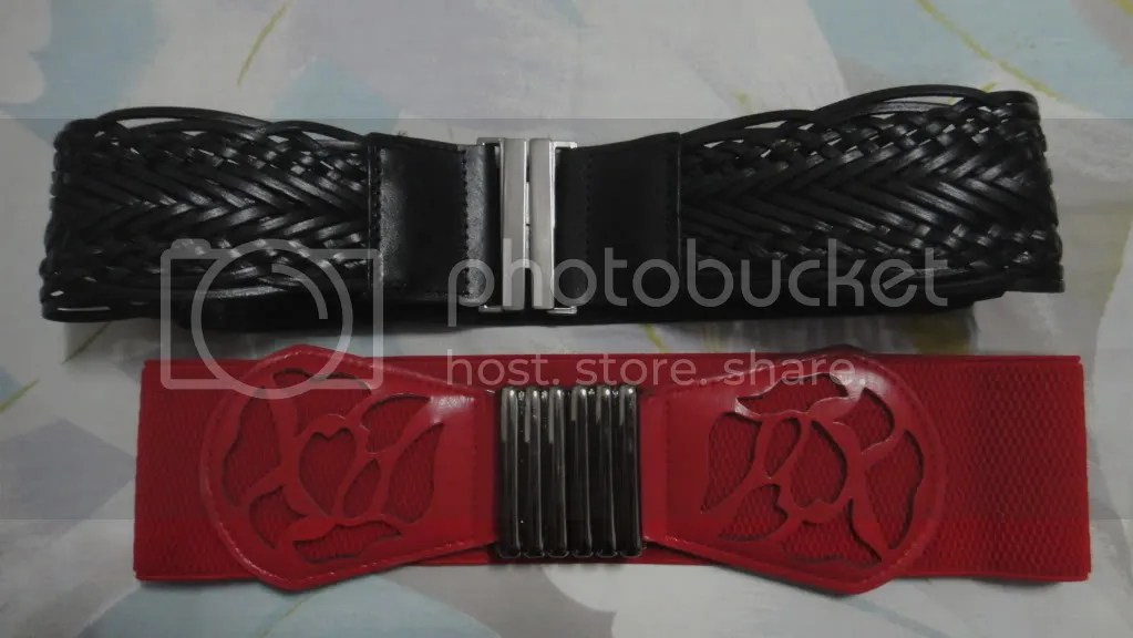 red and black belts
