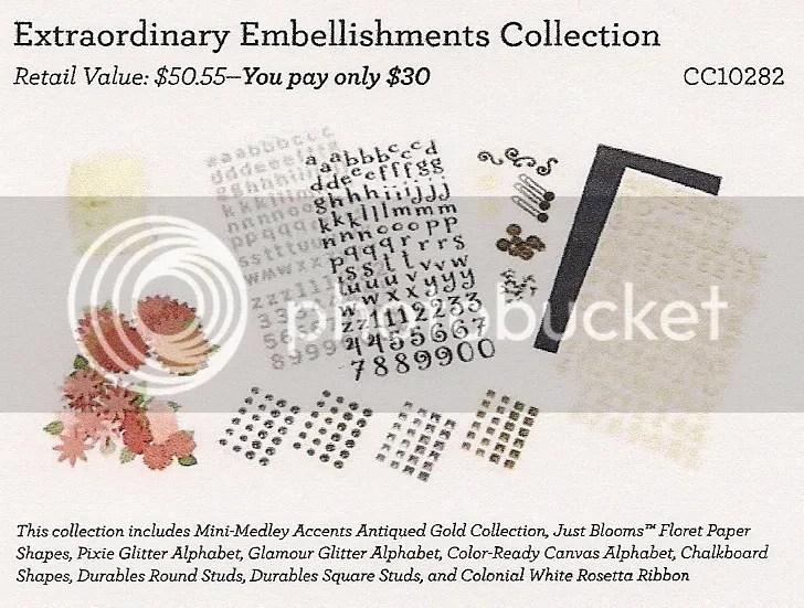 Extraordinary Embellishments Collection - CC10282