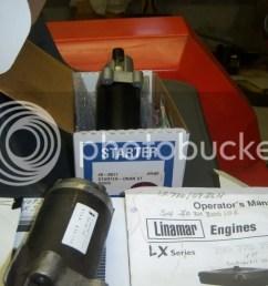 changing starter on linamar lx770 onan p218g page 2 on onan b43g wiring diagram  [ 1024 x 768 Pixel ]