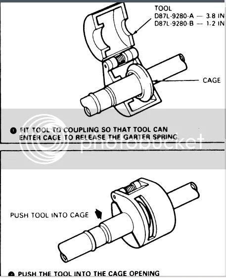 semi fuel filter removal tool