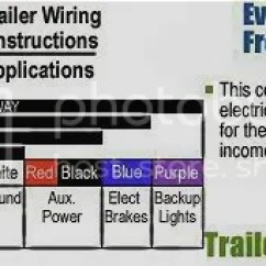 Standard 4 Way Trailer Wiring Diagram Tpi Ford Ranger All Data 7 Pin Explorer And Forums Truck Park