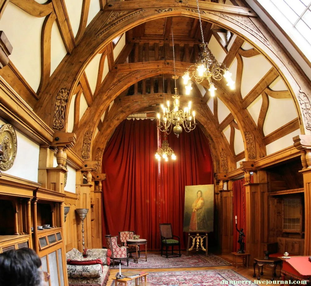 Some rooms at Peles castle Sinaia Romania  18 May 2011  danperry