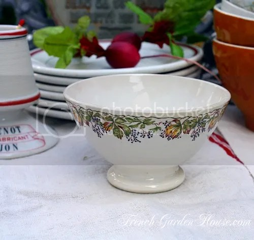 Bowls 8 French Antique Cafe Au Lait Bowls Country Chabby Complete In Specifications Decorative Arts