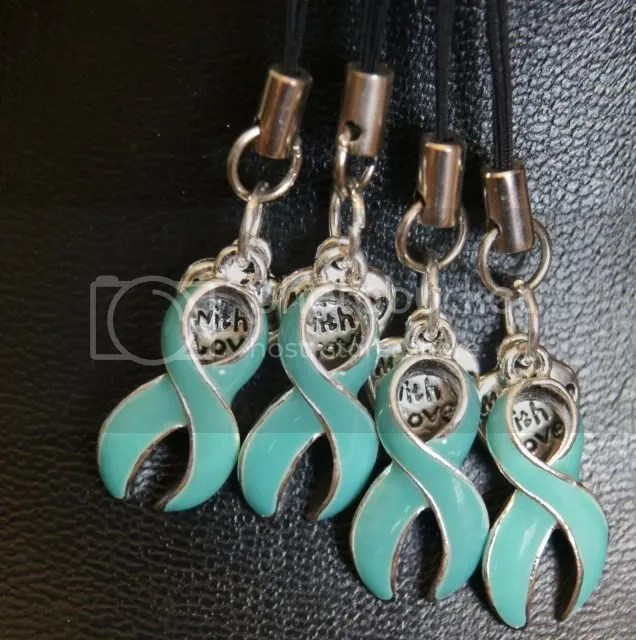 My Ovarian Cancer Jewelry Pieces (2/3)