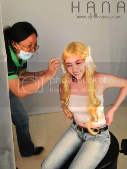 elements makeup shoot