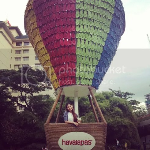 Havaianas hot air balloon