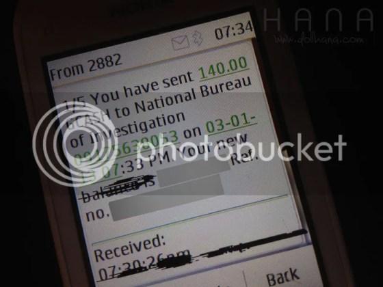 NBI E-clearance GCASH payment