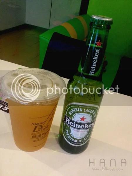 Heineken Tea
