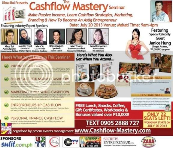 cashflow seminar 2013
