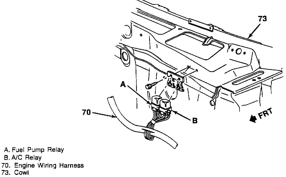 toyota pickup transmission wiring harness
