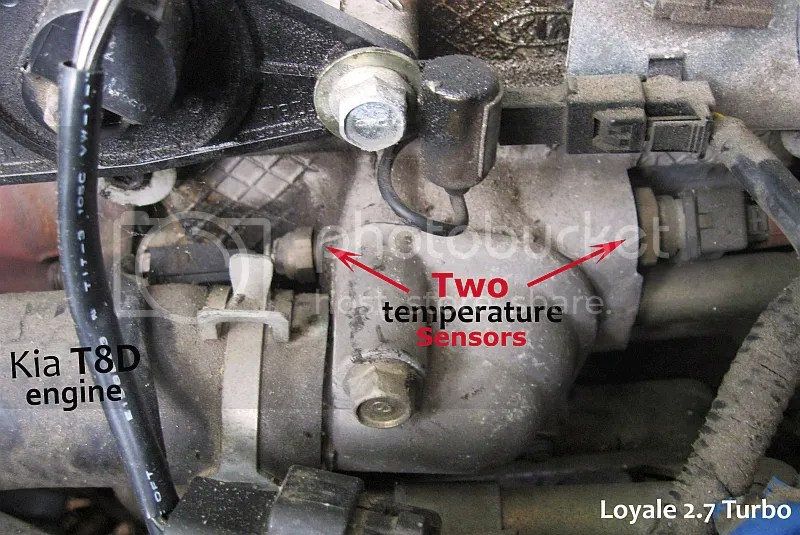 Kia Otima Engine Coolant Temp