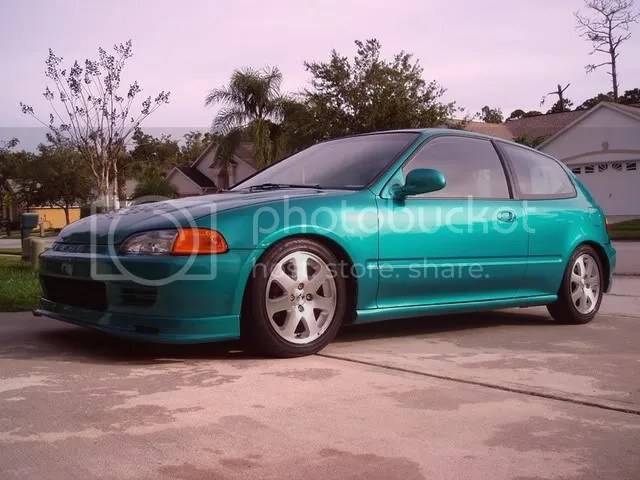 Pic Request EG Hatch on skunk2 lowering springs  HondaTech  Honda Forum Discussion