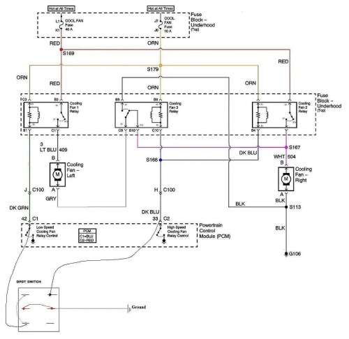 small resolution of cooling fans and a c compressor wiring ls1tech wiring diagram for you ls1 dual fan relay wiring