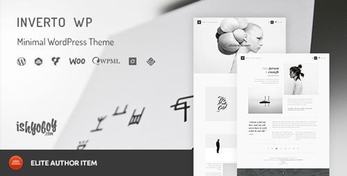 ThemeForest - Inverto WP v1.7 - Minimal WordPress Theme - 13745024
