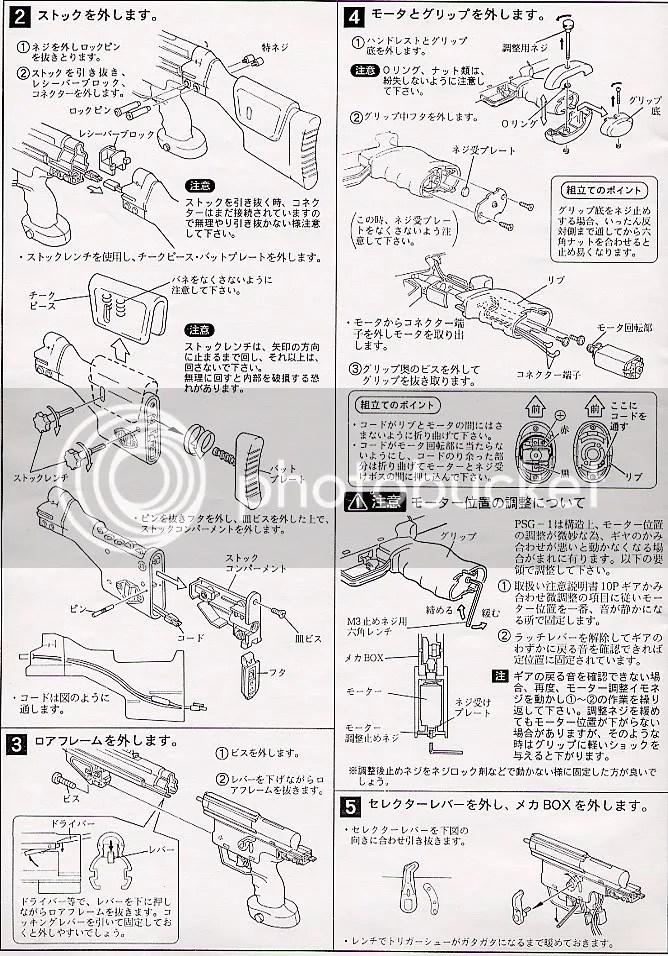 [ Tokyo Marui ] H&k Psg-1 (präzisions-scharfschützen