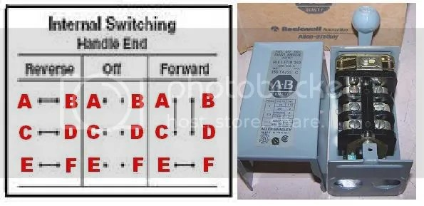 reversing drum switch wiring diagram whirlpool gold refrigerator how do i wire up my switch? (220v, single phase)