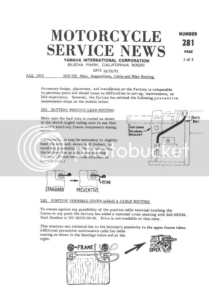 service – Diagram Wiring Xs650f