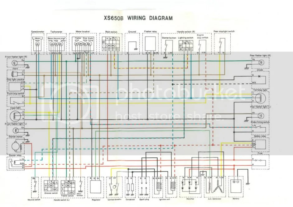 xs650 75 xs b 76 xs c wiring diagram thexscafe xs650 75 xs b 76 xs c wiring diagram leave a comment