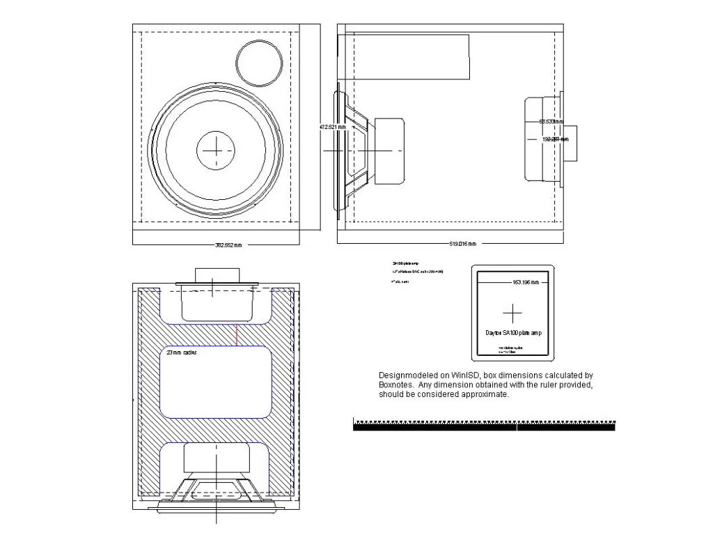Ported Subwoofer Box Designs