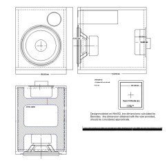 Single Subwoofer Wiring Diagram Clarion Cmd4 4 12 Box Ported And Fuse