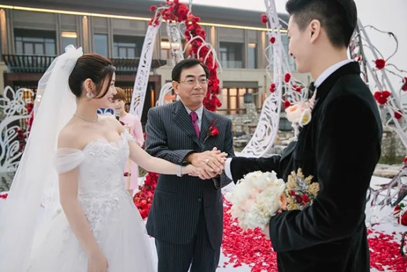 Chen Xiao And Michelle Chen S Wedding Ceremony In Beijing