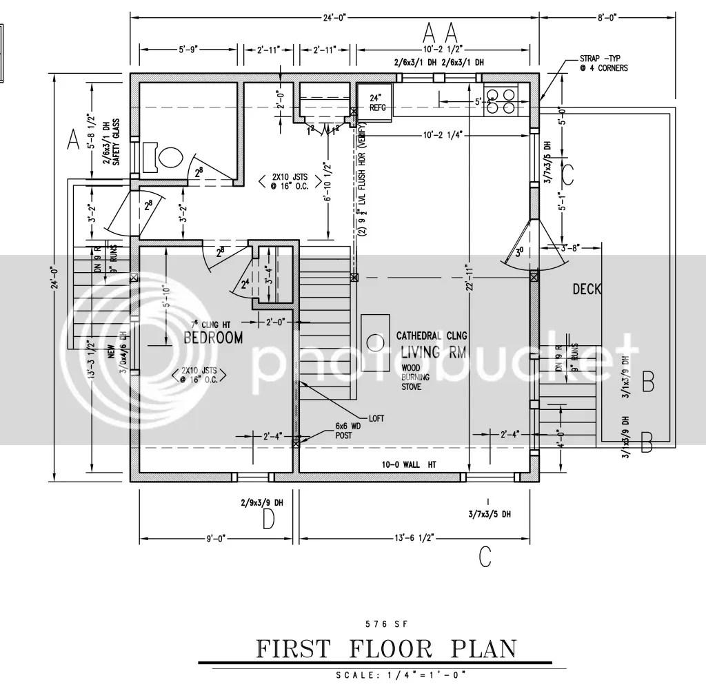 24 X 24 Cabin Plans Plans Diy Free Download Free