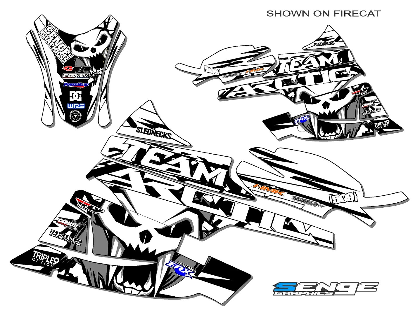 2003 2004 2005 2006 ARCTIC CAT FIRECAT SABERCAT GRAPHICS
