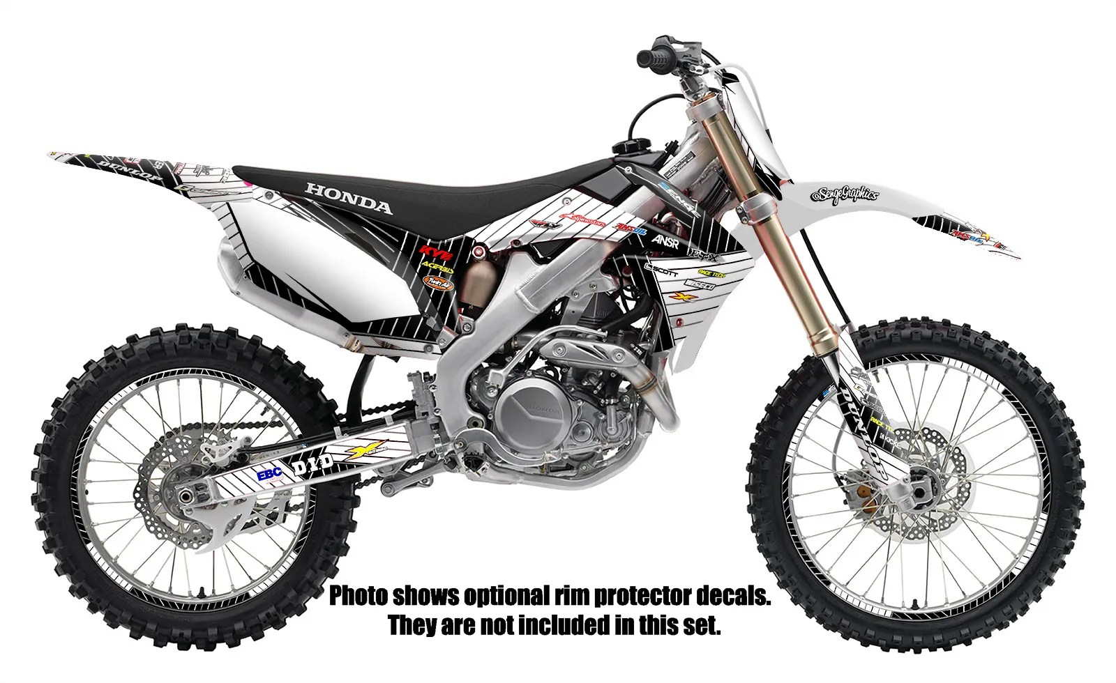 2002 2003 CR 125 250 R GRAPHICS CR125 CR250CR250R CR125R