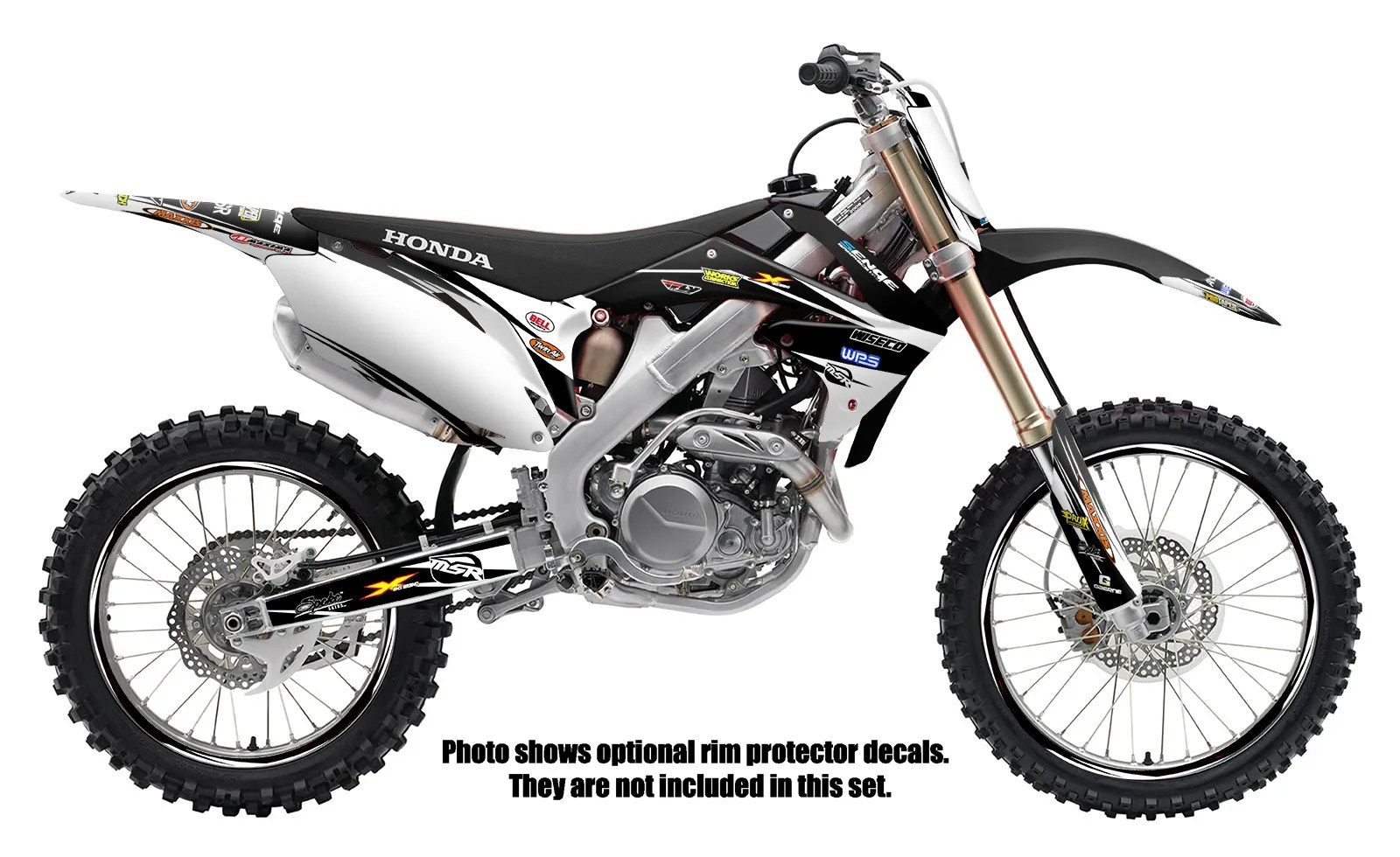 1995 1996 CR 250 GRAPHICS KIT CR250 CR250R R 250R DECO