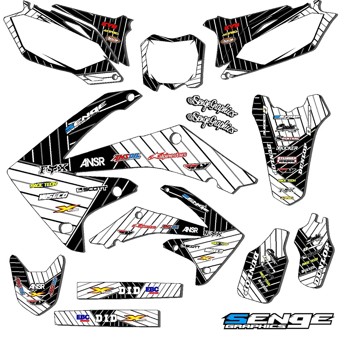 2000 2001 2002 2003 XR 50 GRAPHICS KIT XR50 03 02 01 DECO